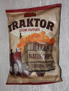 Traktor grom paprika, gammel look