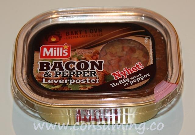 Baconpostei med pepper