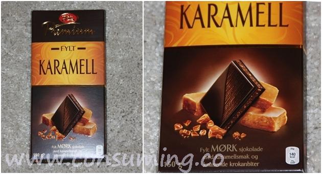 premium karamell og krokan