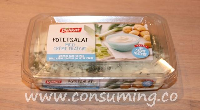 Potetsalat fra Delikat med creme fraiche