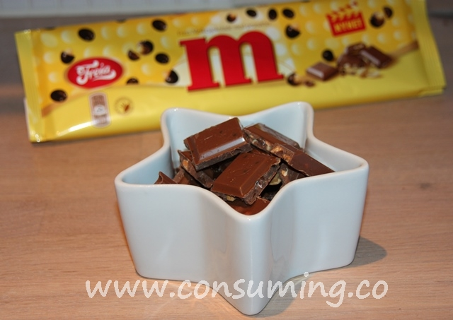 M sjokoladeplate