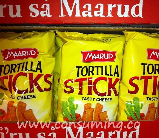 tortilla sticks