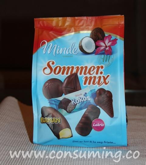 Sommer Mix fra Minde sjokolade