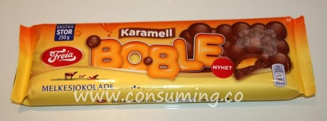 Boble karamell Freia