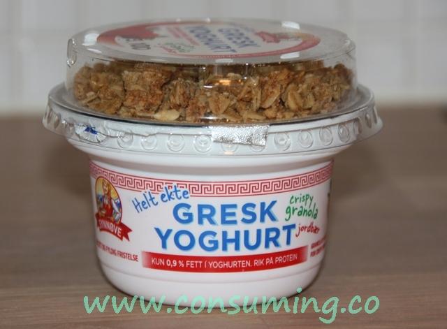 Gresk yoghurt med jordbær