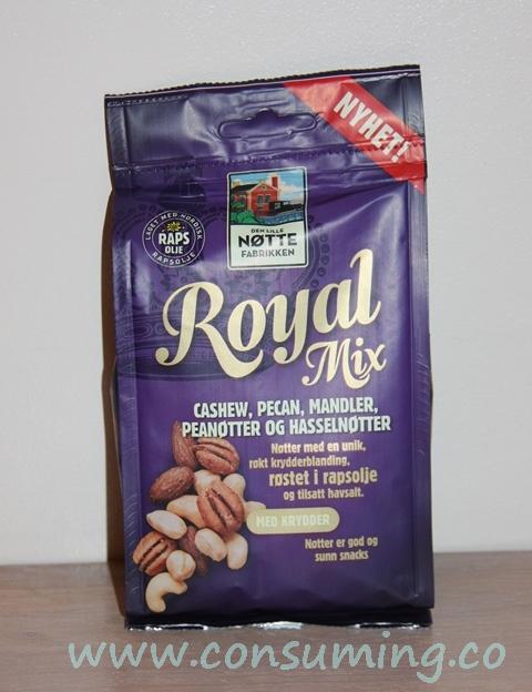 Royal Mix fra Den Lille Nøttefabrikken