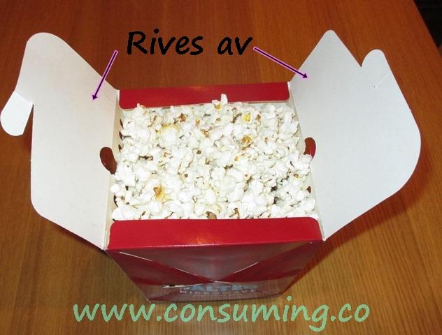 Butterkist salt popcorn