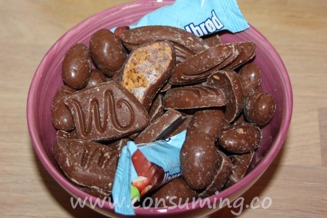 småknas sjokolade