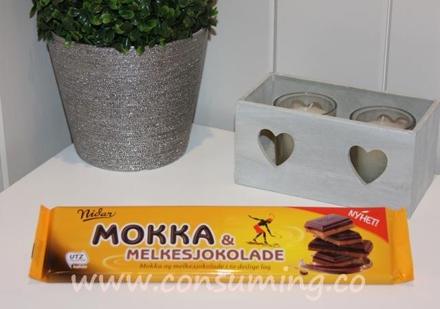 Mokka & Melkesjokolade fra Nidar