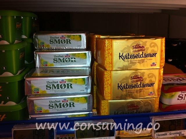 Smør i mindre pakning
