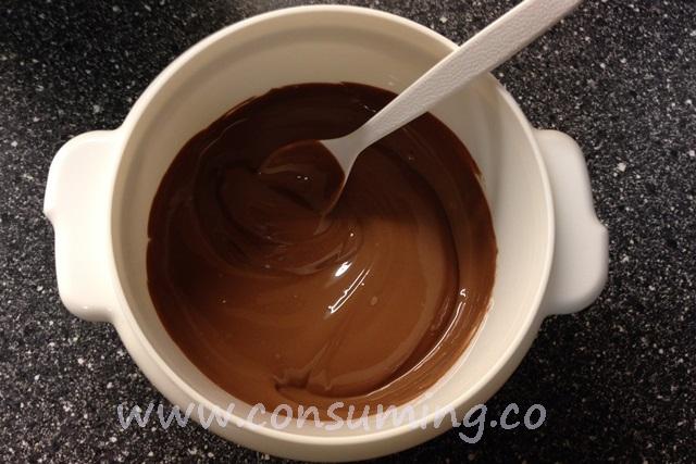 Smeltet sjokolade