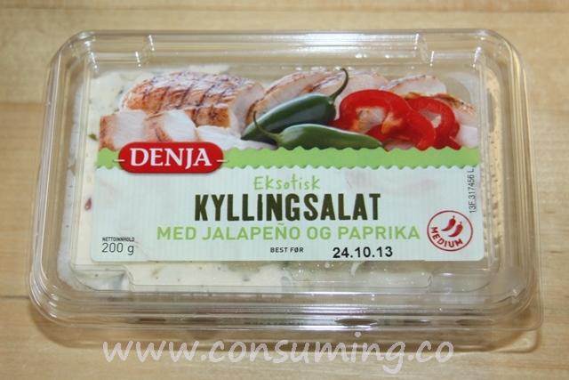 Eksotisk kyllingsalat fra Denja