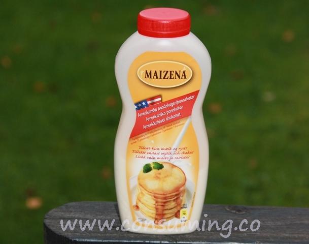 Maizena pannekakerøre