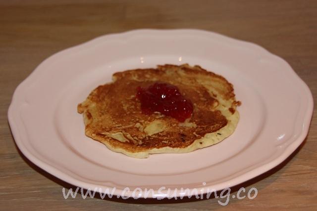 pannekake med syltetøy american pancake