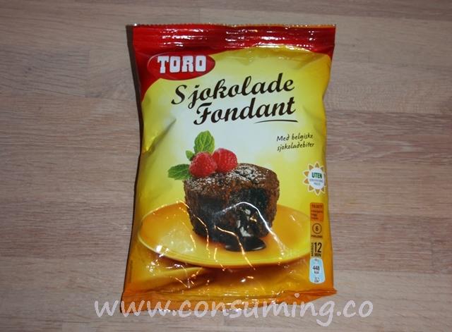 SjokoladeFondant fra Toro