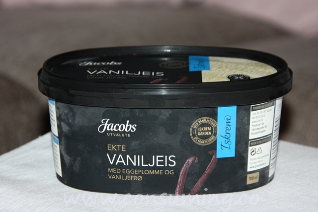 Vaniljeis
