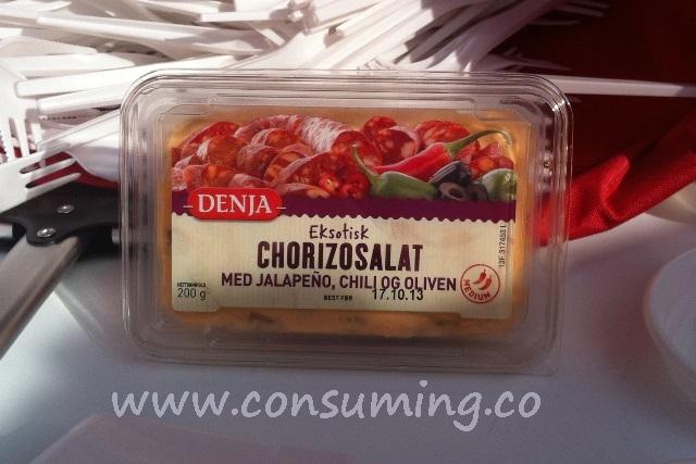 Eksotisk chorizosalat fra Denja