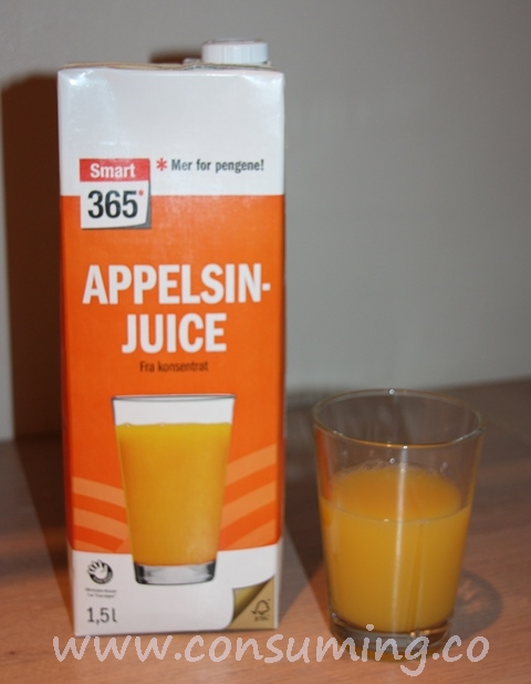 Smart365 appelsinjuice