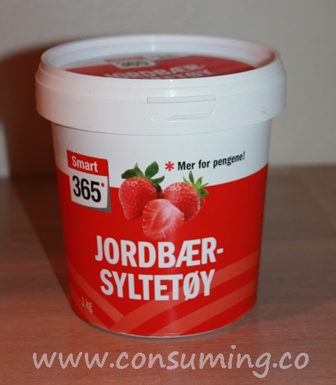 Smart365 jordbærsyltetøy