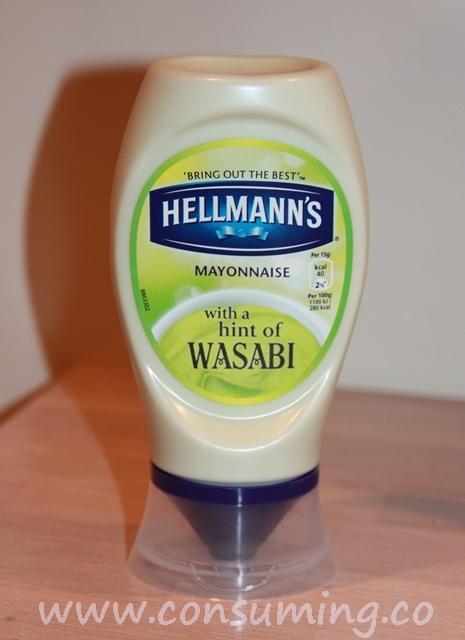 Majones med wasabi