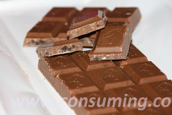 Freia melkesjokolade med oreo i biter