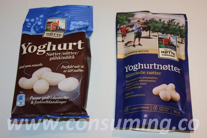 Den lille nøttefabrikken yoghurtnøtter