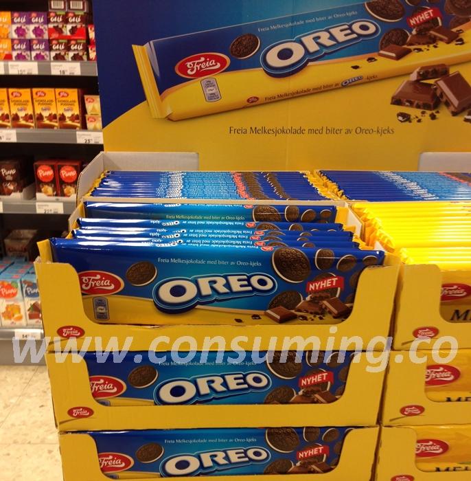 Oreosjokolade på Ica