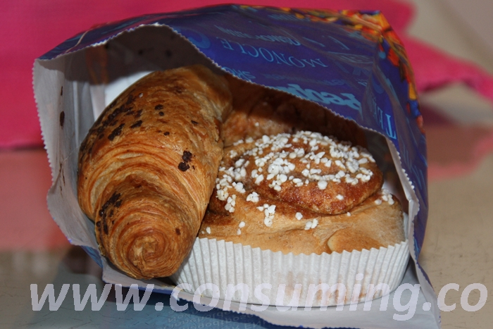 Bakervarer i smågodtpose