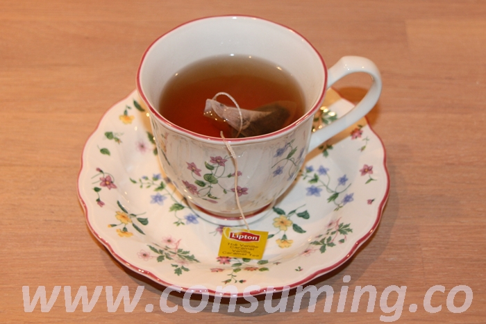 Caramel tea fra Lipton