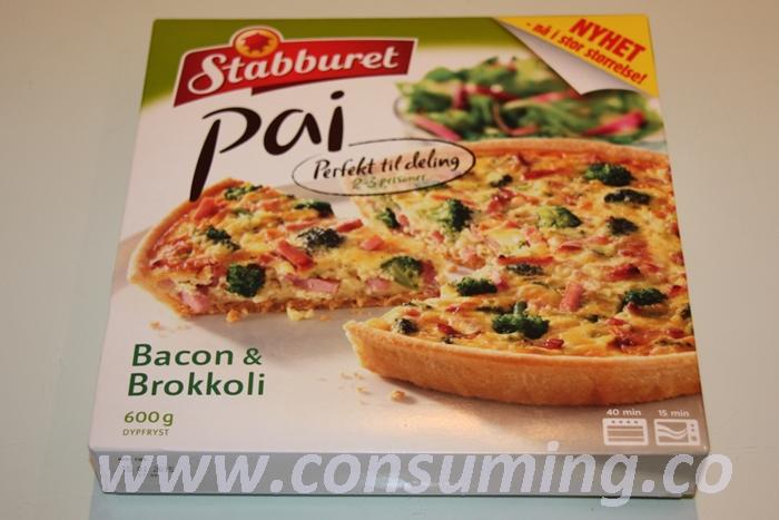 ai med bacon og brokkoli