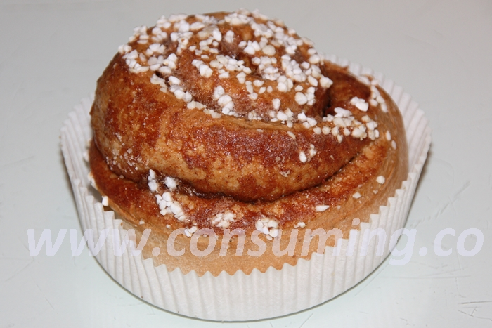 Kanelbolle i muffinsform
