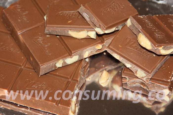Pollysjokolade fra Nidar