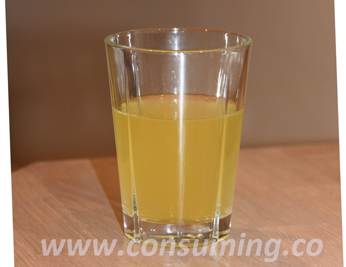 Solo sitron og melon i glass