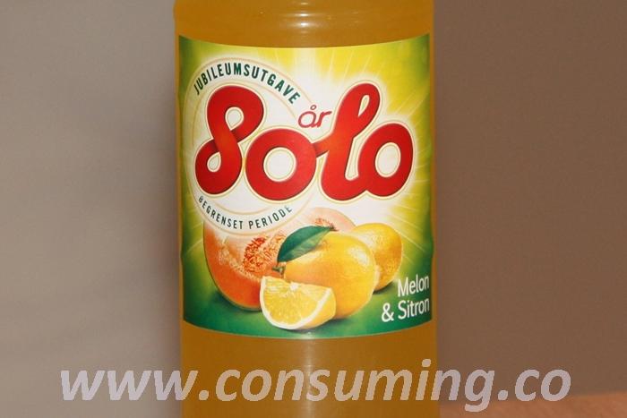 Solo sitron og melon