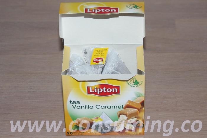 Vanilla caramel tea 2