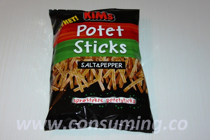 Potet sticks salt og pepper pose