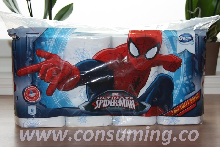 Spiderman dopapir