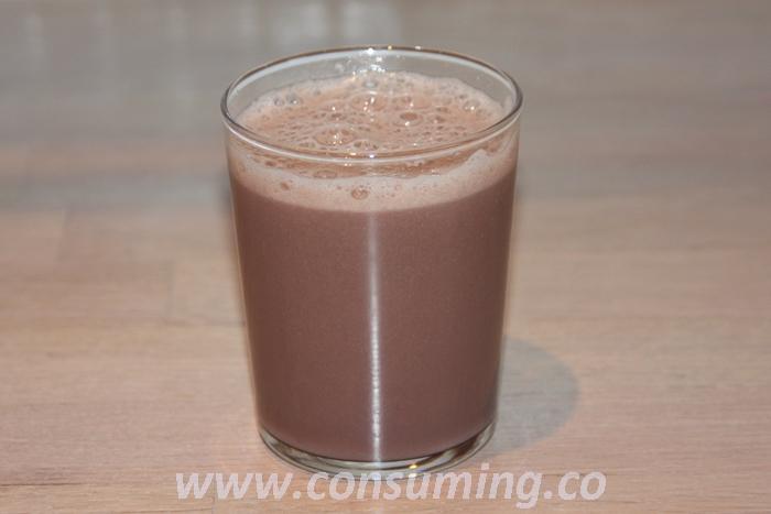 Nutrilett i glass med skum