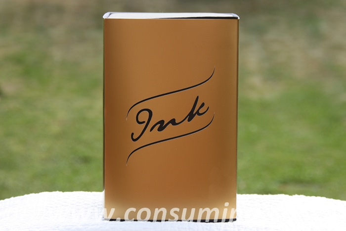 Ink in box