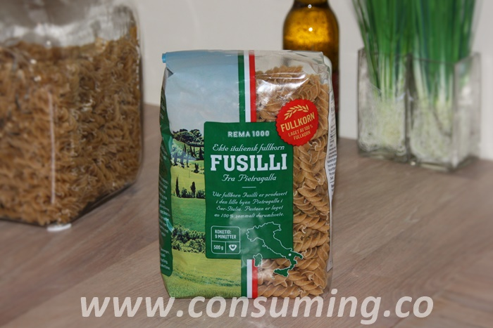 Pasta fra Rema1000 Fusilli