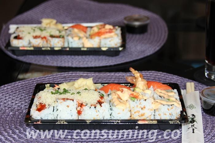 Sushi fra Tin tin