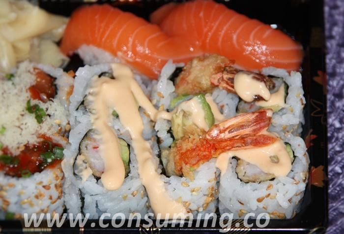 Tin tin tempura maki + nigri