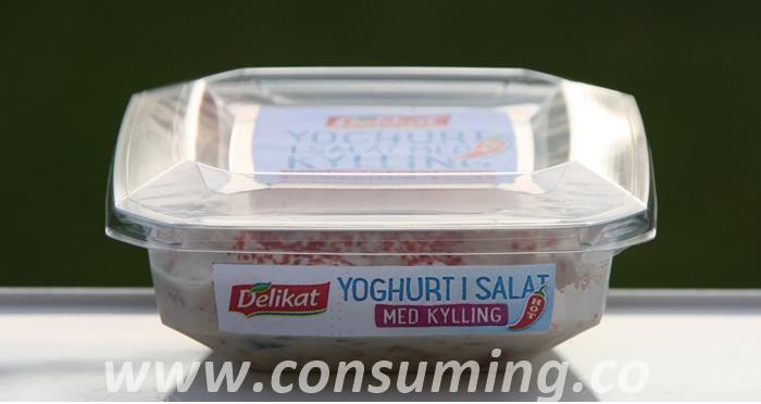 Yoghurt i salat fra Delikat