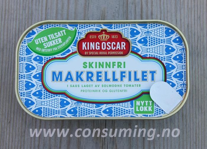 Makrell fra King Oscar