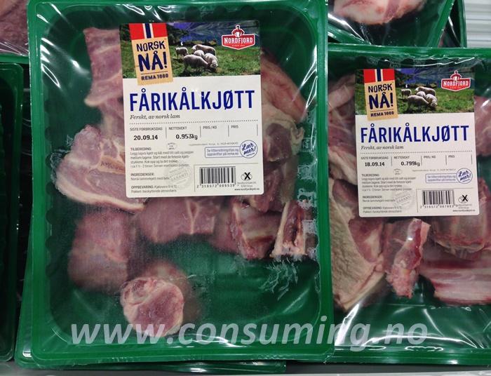NÅ Fårikålkjøtt